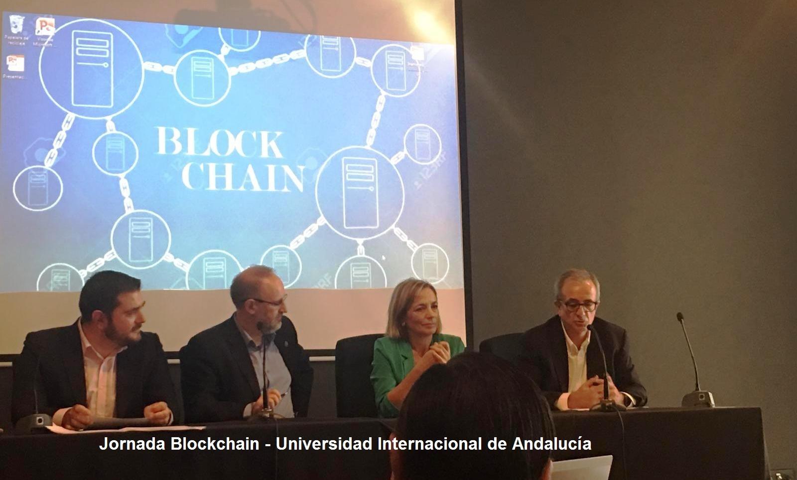 Jornada Blockchain - Universidad Internacional de Andalucia